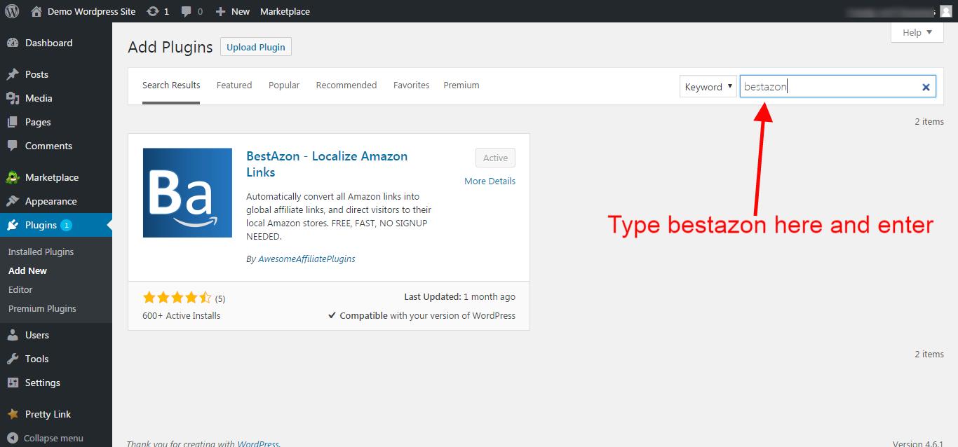 How to install BestAzon on Wordpress - BestAzon Support